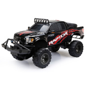 New Bright RC 1:6 Scale Ford Raptor Truck, Black