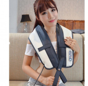 GJA Massage shawl massager neck and shoulder music beat the shoulder waist neck neck whole body home