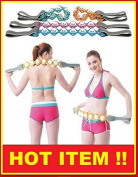 MASSAGE ROPE MASSAGE FOR BACK NECK LEGS AND SHOULDERS STIMULATE CIRCULATION RELIEVE MUSCLES PAIN KNOTS PIRIFORMIS LEGS