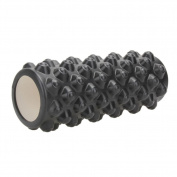 Bluelans Fitness Yoga Floating Point EVA Foam Roller for Gym Exercise Massage Pilates