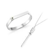 Mateo NYC Sterling Silver Philips Screw Kit Bracelet