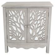 River of Goods Willow Tree 2 Door Cabinet with Shelf