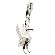 Perfectcharm Liverbird Charm - Sterling Silver With Lobster Clasp