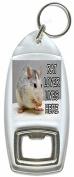Rat Lover Lives Here - Bottle Opener Keyring