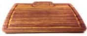Prosharp Hard Wood Cutting board 100% Eco-friendly - African Teak IROKO Wood - For Professionals 38x26.5x2cm
