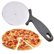 Pizza Cutter Pizza Wheel Cutter Stainless Steel 10cm Blade with Safe Handle