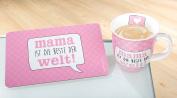 Gilde Porzellan Jumbo-Tasse 'Mama ist die Beste' 46317