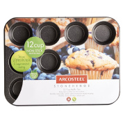 Arcosteel Stonehenge 12 Cup Muffin Pan