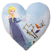 Frozen Cushion Filled Heart Shaped Arendelle Cheer