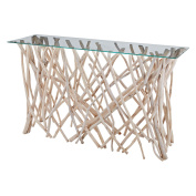Dimond Home Teak Root Console Table