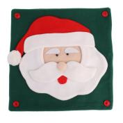 Sharplace Festive Christmas Santa Claus Throw Pillow Case Cushion Cover Xmas Car Sofa Pillowcase Gift Ornaments