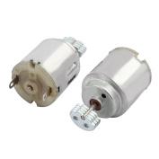 Unique Bargains 2Pcs DC3V-4.5V 12500RPM Rotary Speed Electric Vibration Motor for DIY Model Toy