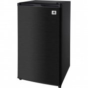 IGLOO 0.09cbm REFRIGERATOR BLACK STAINLESS STEEL