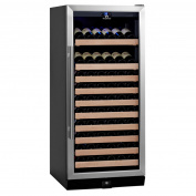 98-Bottle 1Temp Wine Fridge, Silver