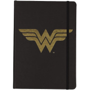 Wonder Woman PU Notebook with Gold Foil A5