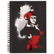 Batman Black Double Spiral Notebook A5