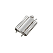 Beadslide 18mm Smooth Plain Silver Plated Slider Clasp