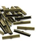 creafirm . 50 Caps Tie Ribbon 25 mm Bronze
