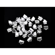 creafirm . 200 (Ribbon Clip 8 mm Silver