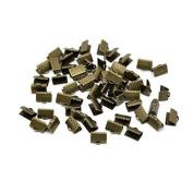 creafirm . 100 Bronze 10 mm Ribbon Shoe Tips