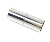 10 Magnetic Silver 24 x 9 MM for 8 MM Cord, DIY Craft Express