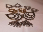 CraftyThings Chandeliers Earrings / Necklace Findings - Pack Of 10