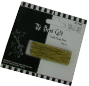 The Bead Cafe Head Pins, Gold