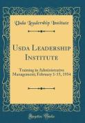 USDA Leadership Institute