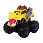 Toy Car for Kids, Pull Back and Go Vehicle Toy Four-Drive Powerful Friction Car for Children
