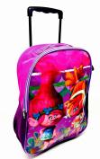 Children's Large Trolls Budget Fold Up Trolley Bag - Cabin Bag