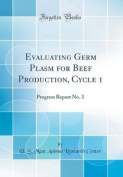 Evaluating Germ Plasm for Beef Production, Cycle 1