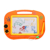 Yosemite Magnetic Drawing Board with Pen Stamper Educational Kids Doodle Toy- Random Colour