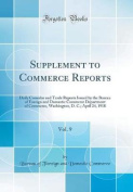 Supplement to Commerce Reports, Vol. 9