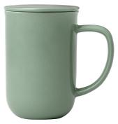 Viva Scandinavia 9102261 Tisanière 50 ml, Porcelain, Green, 13.5 x 9 x 15.5 cm
