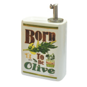 Extra Virgin Olive Oil 611580 Born To Be Ceramic 9.9 x 5 x 7 cm