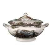 Johnson Brothers Friendly Village Soup Tureen with Lid, 6-1/2 Pint