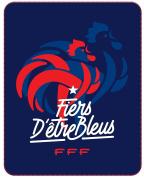 FFF – French Team Football Blanket 110 x 140 cm