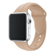 Band For Apple Watch, Toamen Fashion Sports Soft Silicone Replacement Sports Band For Apple Watch Series 1/2 42MM