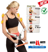 EuroQuality Sport Arm Workout Machine Tones Strengthens Arms Biceps Shoulders Chest Wonder