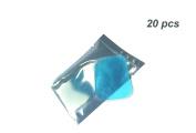 Pawaca 20pcs Replacement Gel Pads for EMS Abdominal Arm Leg Muscle Toner