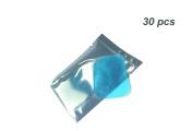 Pawaca 30pcs Replacement Gel Pads for EMS Abdominal Arm Leg Muscle Toner