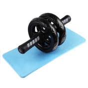 Abdominal Wheel Roller, IDEAPRO No Noise Ab Workout Exercise Equipment with Mat for Home Gym, Ab Crunch, Core Exercise