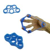 AllRight Finger Stretcher Hand Resistance Band Finger Grip Trainer Strengthener Enhance Finger Muscle