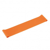 High Density Resistance Band for Fitness Exercise at Home Orange
