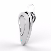 Tutoy Ves403 Mini Stereo Wireless Hands Free Headset-Bluetooth Voice Control Music Earphone With Mic - White