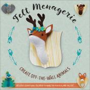Felt Menagerie Kit-10 Stuffed Animal Projects