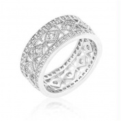 Simple Classic CZ Band, Size : 06