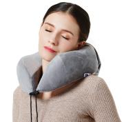 Neck Pillow -Memory Foam Travel Pillows for Aeroplanes