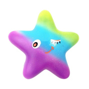 13cm Starfish Stress Toy Squishy,Luoluoluo Exquisite Fun Galaxy Scented Squishy Charm Slow Rising Kids Toys Big Squishy Toys