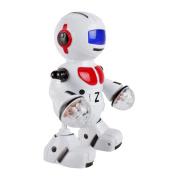 Pu Ran Electronic Walking Dancing Music Light Astronaut Robot Kids Funny Toy Xmas Gift